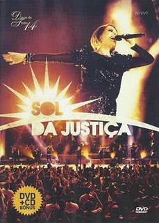 DVD - Diante do Trono 14 - Sol da Justiça – DVDRip AVI
