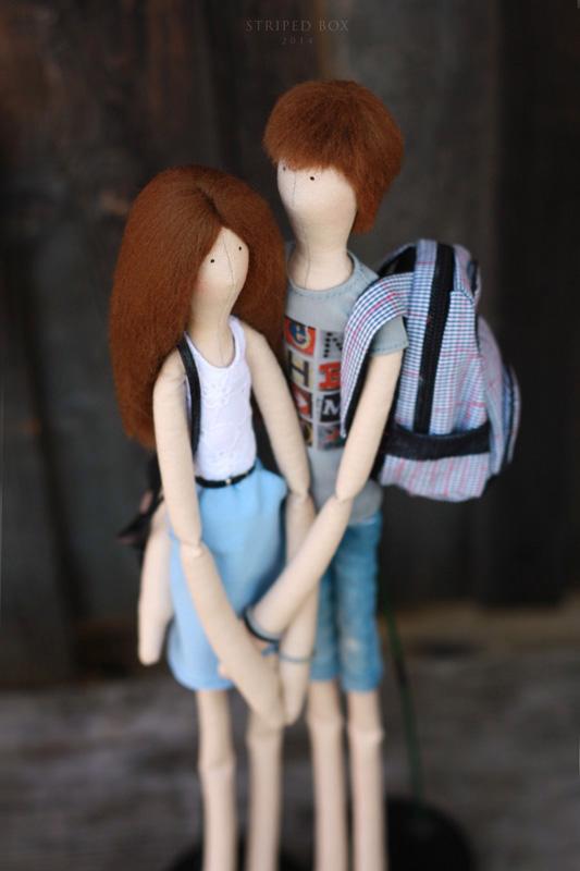 Портретные куклы пара