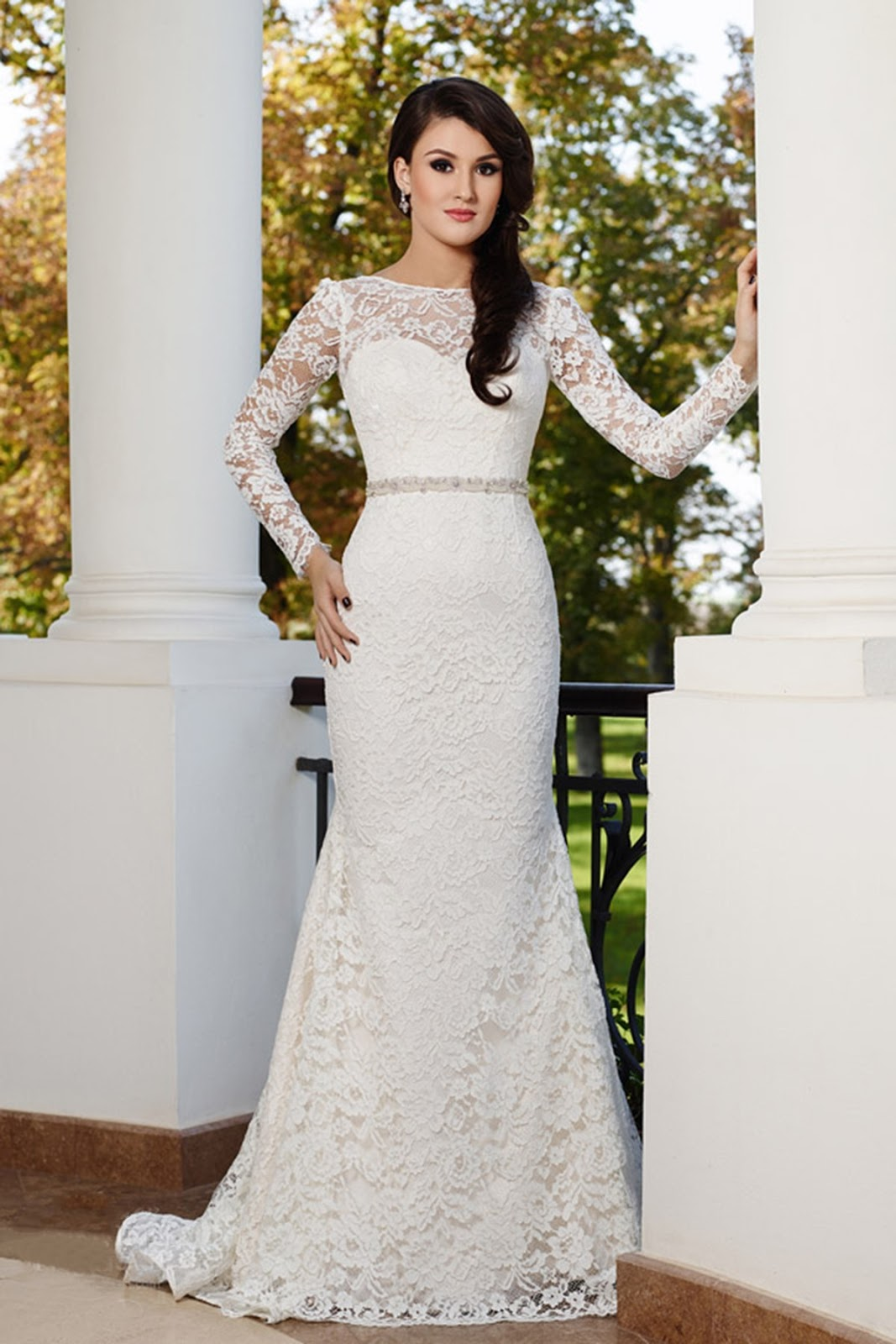 Full Sleeve Lace Wedding Dress 85 Great Lace wedding Dresses from