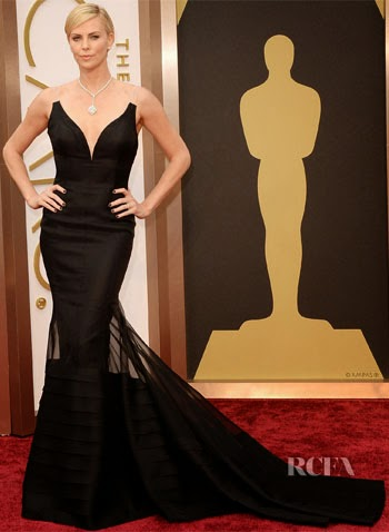 academy awards, 2014, best dressed, worst dressed, red carpet, arrivals, oscars, charlize theron, christian dior, dior