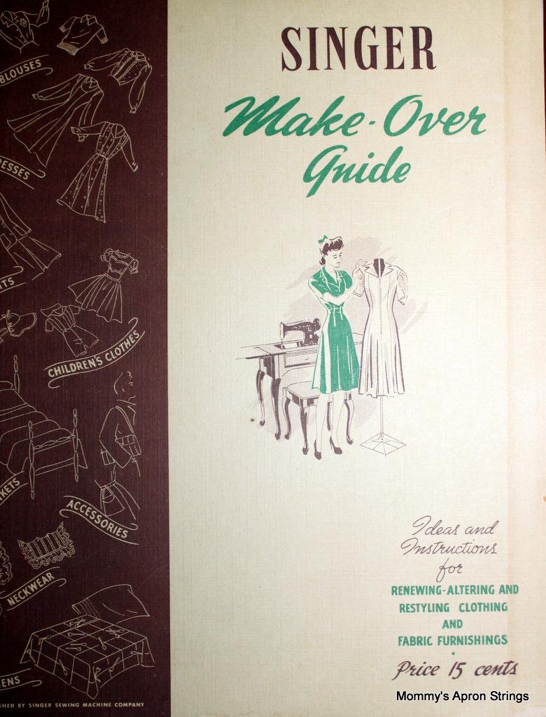 Mommy\'s Apron Strings: Vintage Magazine Score!