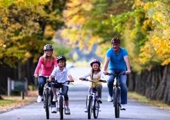cara mengecilkan betis dengan bersepeda santai