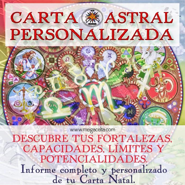 Carta Astral Personalizada Meiga Celta