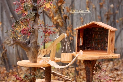 Really Cool Tree Houses everyday art: diy magic tree house for your kids' christmas