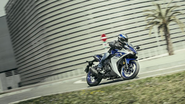 yzf r3 power and performances