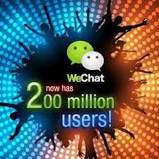 WeChat-Worldwide users