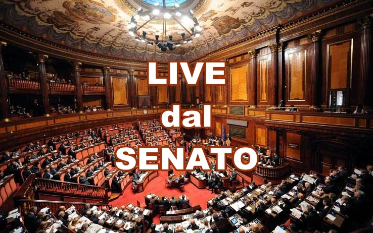 Diretta dal senato for Diretta dal parlamento