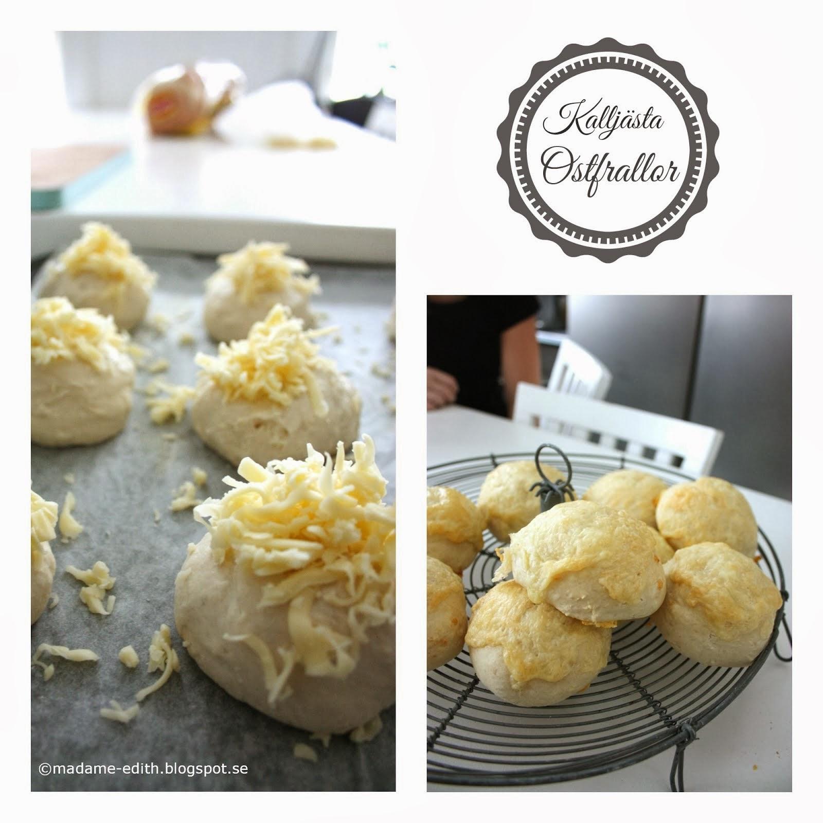 Kalljästa ostfrallor Förbered på kvällen - Grädda på morgonen