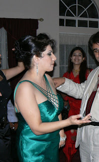 NRI bhabhi in night party