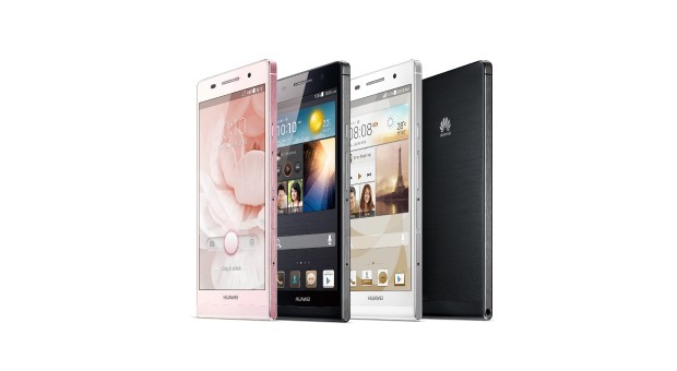 "The Chinese manufacturer presents its latest, high-end smartphone Android ""Ascend P6"", that is ""the finest in the world."""