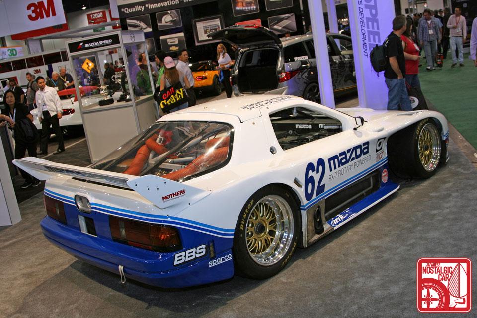 Mazda RX-7, FC, wyścigi, samochód wyścigowy, sport, wankel, rotary, racing car, JDM, japoński, japanese