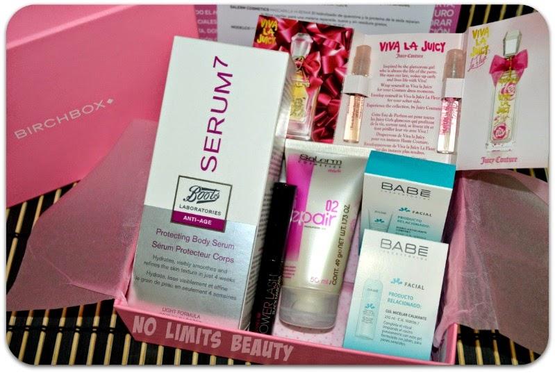 Birchbox Octubre 2014: Living Pink