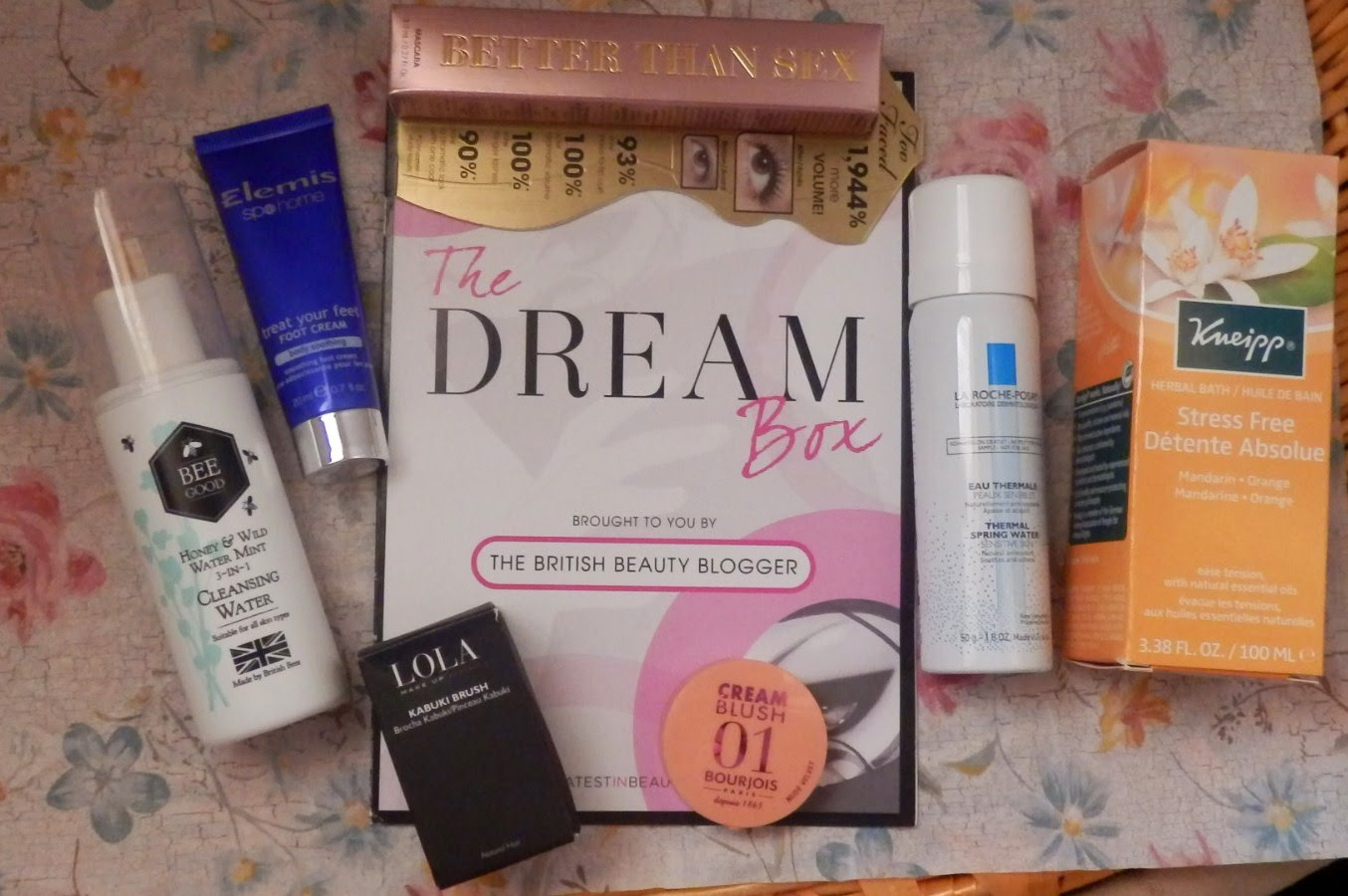 The British Beauty Blogger Dream Box from Latest in Beauty