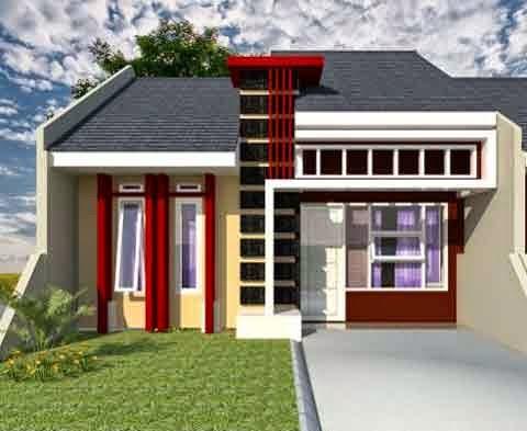 5 contoh gambar desain rumah minimalis type 36 desain