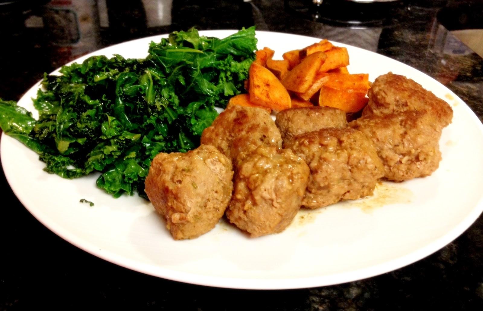 Resourceful Paleo: Herbed Turkey Meatballs (Easy Weeknight Meal)