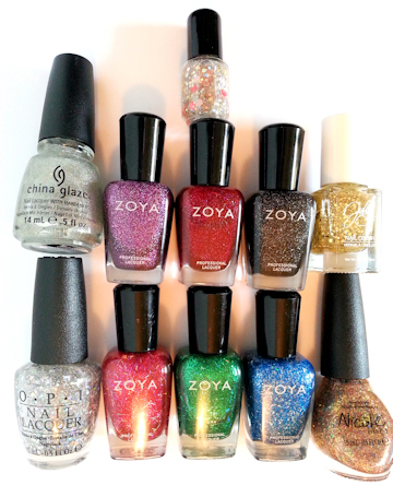 Holographic Nail Polishes