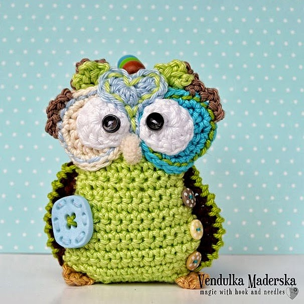 Free Crochet Pattern Small Owl : Free Crochet Owl Patterns