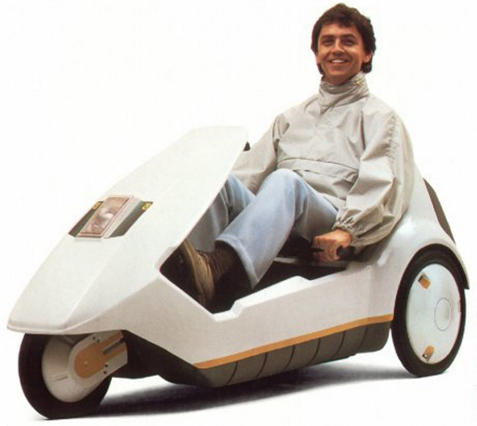 The Left Handed Cyclist The Sinclair C5 The Worlds Worst