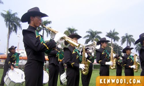 marching band saxophone