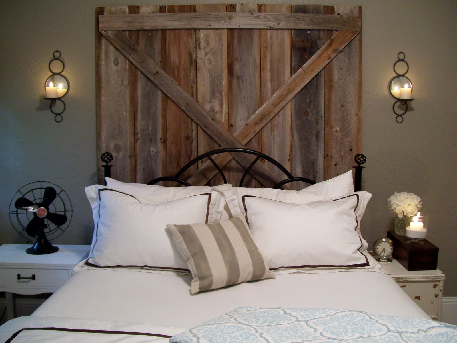 a chandelier barn board and of course burlap chandelier barn board