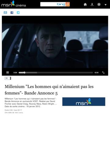 Microsoft vient de lancer une application MSN.fr compatible avec l'iPad. Adaptez au format et aux fonctionnalités de la tablette d'Apple