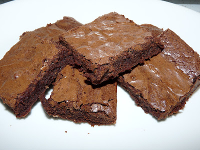 quick fudge brownie