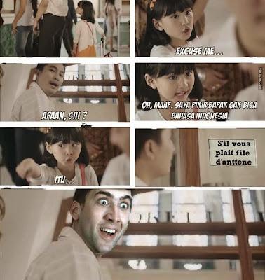 meme comic lucu iklan