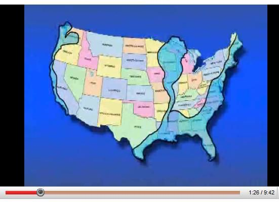 What Are Edgar Cayce Prophecy Maps Referencecom - Edgar cayce future us map