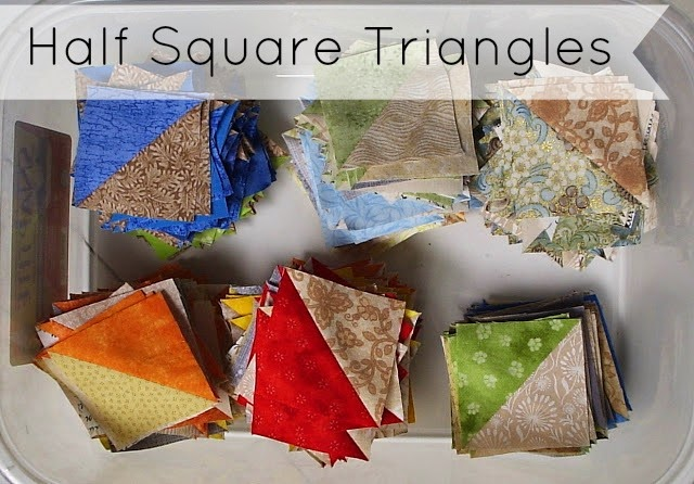 Half Square Triangles tutorial