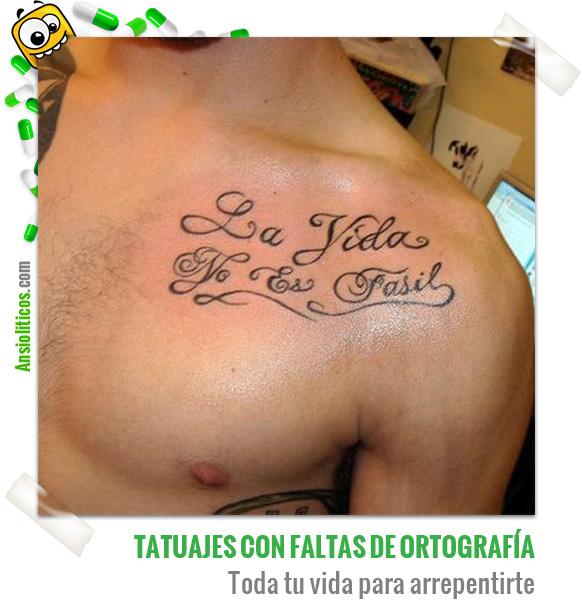 Chiste de Tatuajes con Faltas de Ortografía