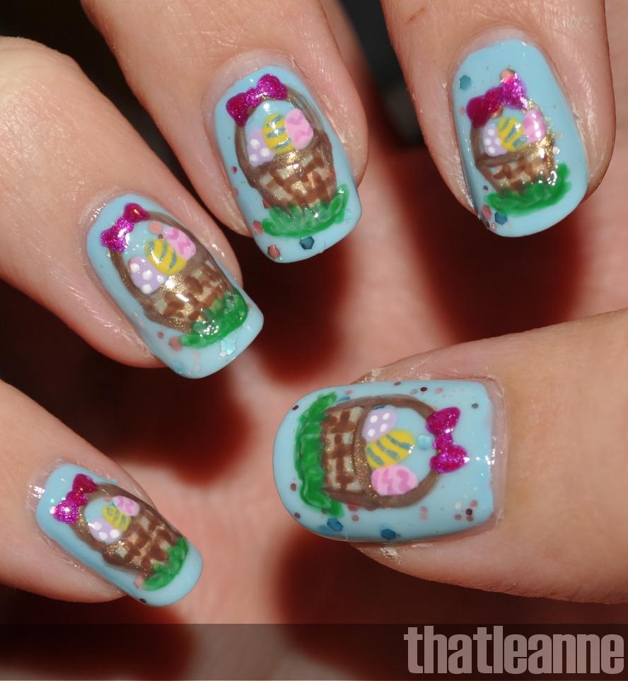 Thatleanne Chococat Nail Art: 5 Nail Art Pour Vous Inspirer à Pâques - Miss Vay