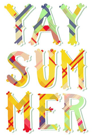 Yay Summer Print by Emily McDowell Illustration