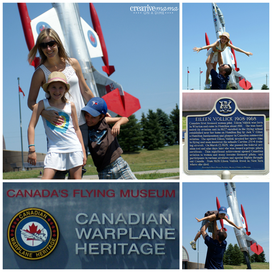 Canadian Heritage Passport - Travel in Ontario - Canadian Warplane Museum