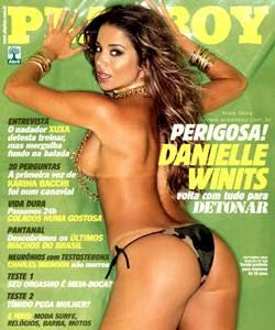 Playboy Danielle Winits Outubro 2003