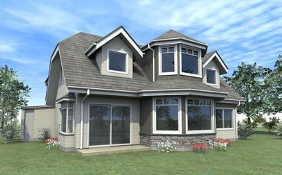 fachadas de casas frentes de casas de campo