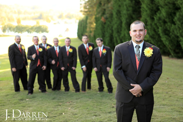photos of fun groomsman shots at a Bermuda Run Counrty Club Wedding in Bermuda Run North Carolina