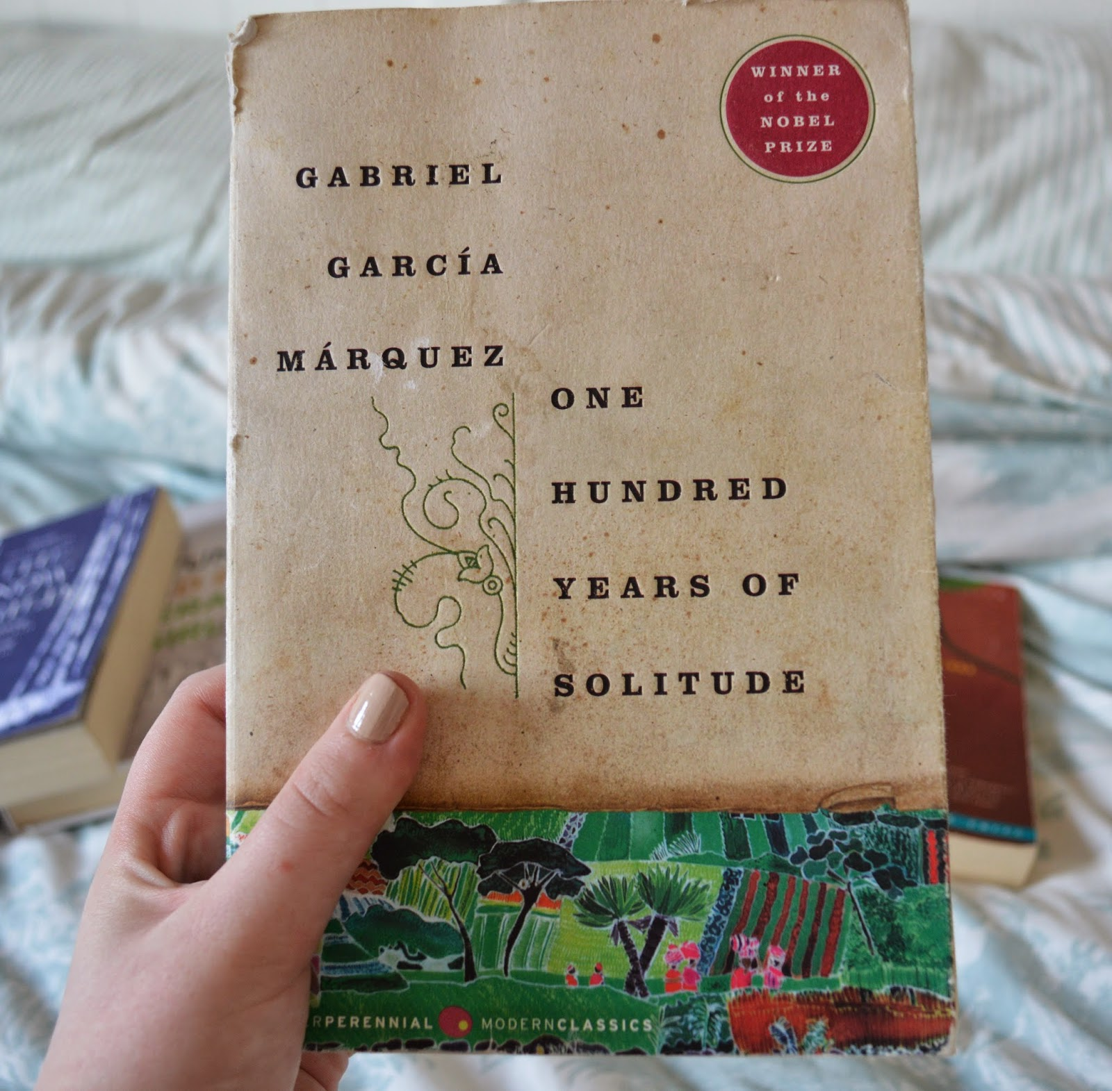 photo, photography, list, mother's day, recommendations, paperback, family centred, literature, suggestions, A Hundred Years of Solitude, Gabriel Garcia Marquez, magical realism, South America, ISBN: 978006112009, 006112009