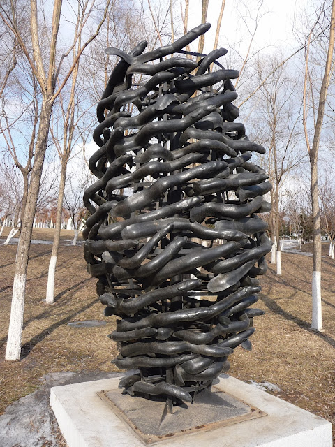 Changchun sculpture park