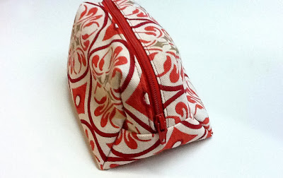 zippered pouch, sewing