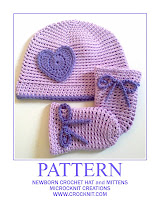 crochet patterns, how to crochet, hats, mittens, baby, newborns,