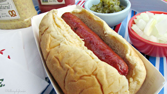 Perfectly grilled Hot Dog