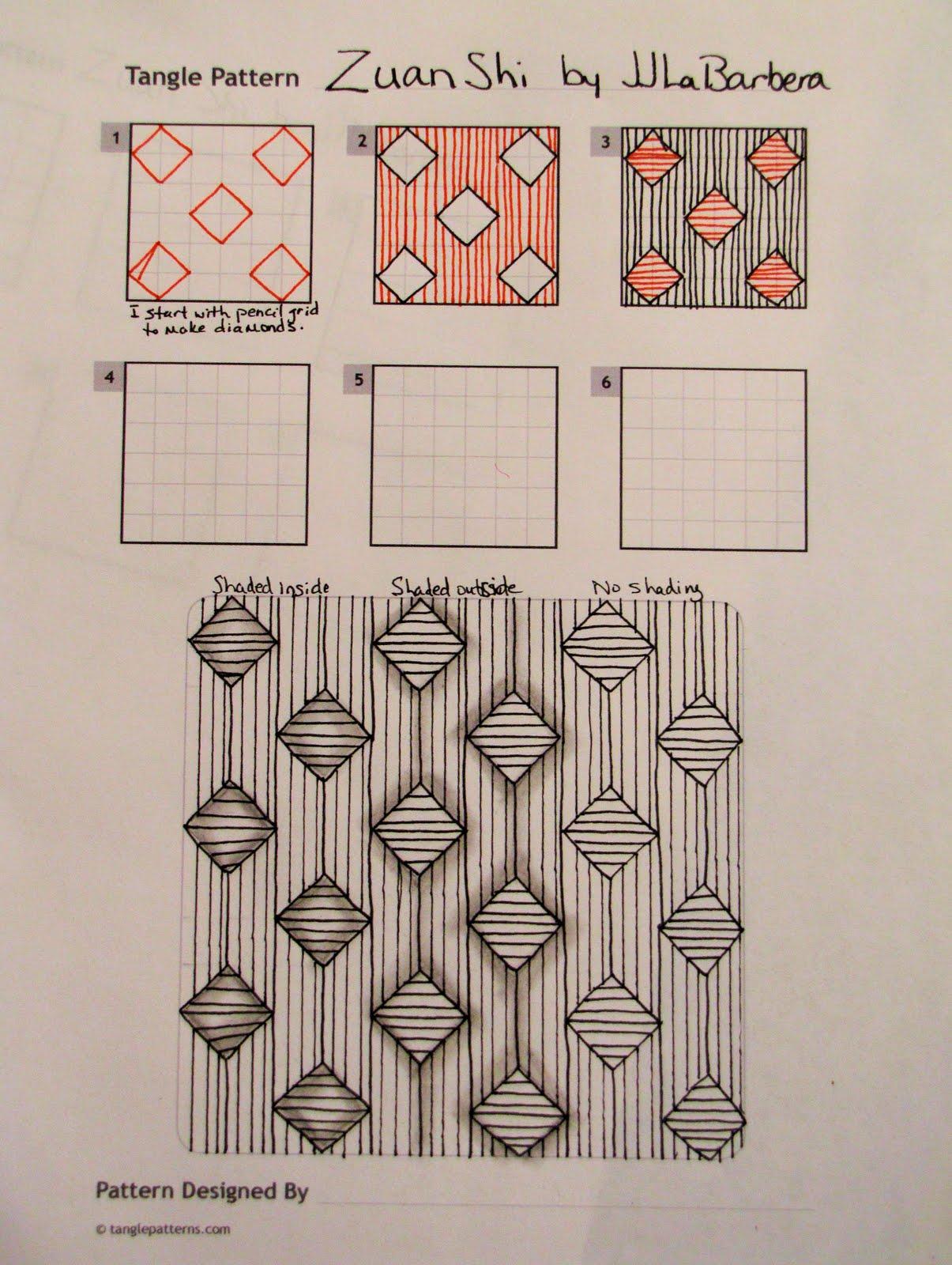 Tangle Patterns Interesting Inspiration