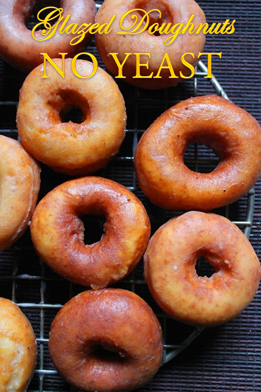 How To Make Cake Doughnuts Without Yeast