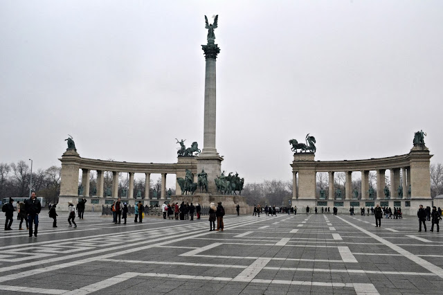 Budapest Hősök tere