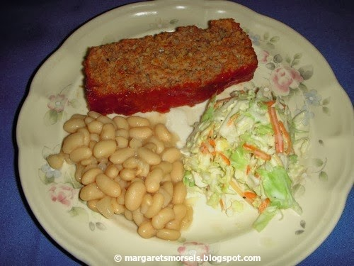 Margaret's Morsels   Sweet and Sour Meat Loaf