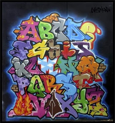 Graffiti_Alphabet_A-Z_by_Vizion