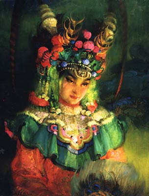 lukits asian princess painting