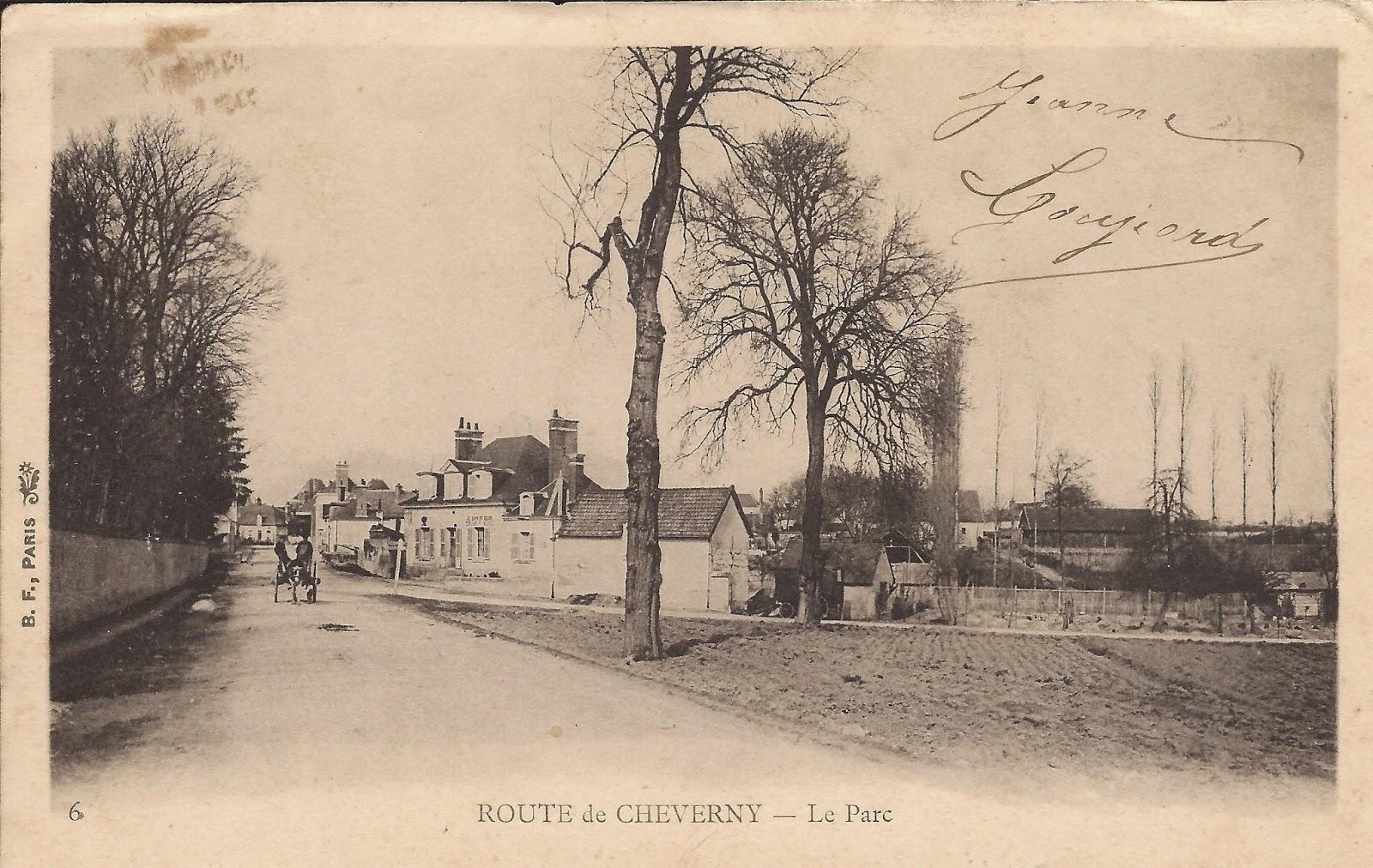 Aux abords du Conon - Cheverny