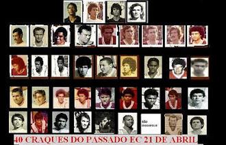 Galeria dos 40 melhores atletas de todos os tempos do EC 21 de Abril.