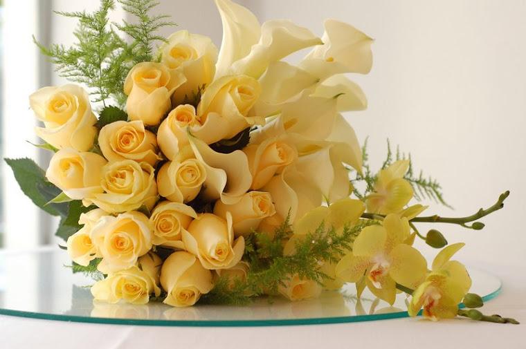 Buquet Rosas Amarelas